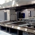 Монтаж профессионального кухонного оборудования
